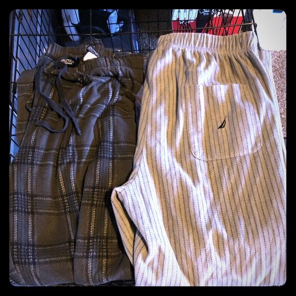 Nautica Other - Náutica pajama pants, fleece really soft. Medium
